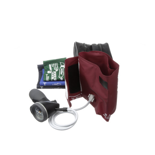 DS66 Trigger Aneroid Family Practice Cuff Kit w/ Nylon Zippered Case
